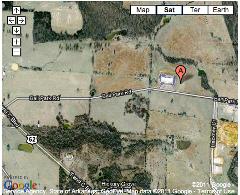Google Satellite Map view of Ash Flat Campus