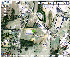 Google Satellite map of Mountain View Campus